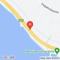 Mapa SCANDIC LAAJAVUORI