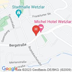 Mapa MICHEL HOTEL WETZLAR