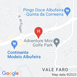 Mapa PARAISO DE ALBUFEIRA