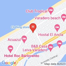 Mapa GRAN CARIBE SUNBEACH