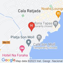 Mapa BELLAVISTA HOTEL & SPA