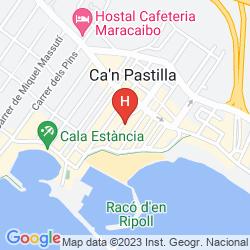 Mapa HM ALMA BEACH