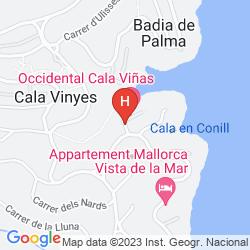 Mapa BARCELO CALA VIÑAS
