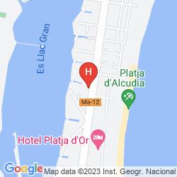 Mapa EDEN ALCUDIA
