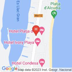 Mapa VIVA EDEN LAGO