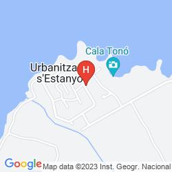 Mapa NATURPLAYA