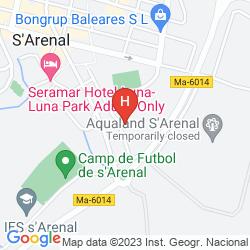 Mapa PALMA MAZAS