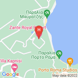 Mapa ZANTE ROYAL RESORT