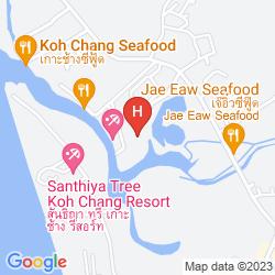 Mapa KLONG PRAO RESORT