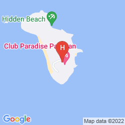 Mapa CLUB PARADISE PALAWAN