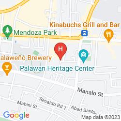 Mapa FLEURIS PALAWAN