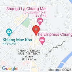 Mapa ANANTARA CHIANG MAI RESORT