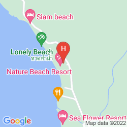 Mapa BHUMIYAMA BEACH RESORT