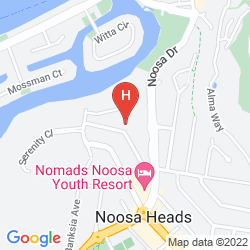 Mapa NOOSA BLUE RESORT