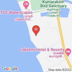 Mapa TAJ GARDEN RETREAT