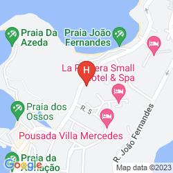 Mapa POUSADA ILHA BRANCA