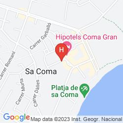 Mapa HIPOTEL MARFIL PLAYA
