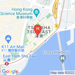 Mapa THE ROYAL GARDEN HONG KONG