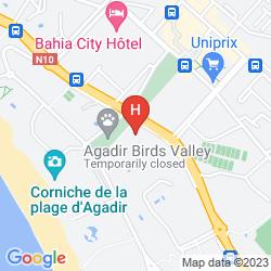 Mapa ODYSSEE PARK