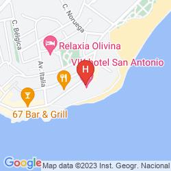 Mapa VIK SAN ANTONIO HOTEL