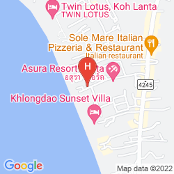 Mapa TWIN LOTUS KOH LANTA