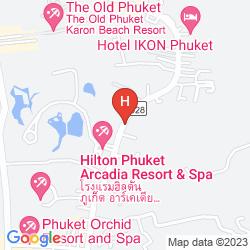 Mapa CENTARA KARON RESORT