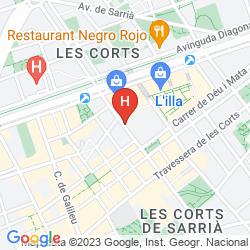Mapa YOUTH HOSTEL PERE TARRES