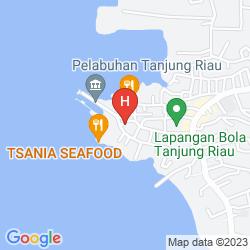 Mapa HARRIS RESORT WATERFRONT BATAM