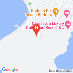 Mapa ART BODRUM