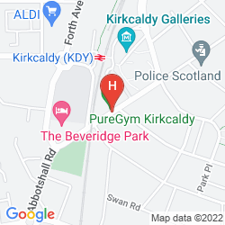 Mapa BEVERIDGE PARK HOTEL