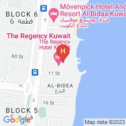 Mapa THE REGENCY