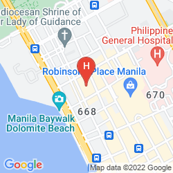 Mapa BEST WESTERN HOTEL LA CORONA