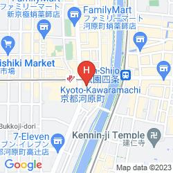 Mapa KYOTO ROYAL HOTEL & SPA