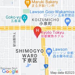 Mapa TOKYU