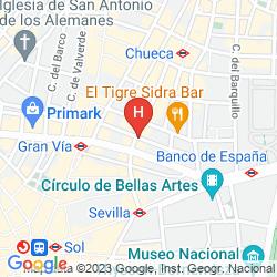 Mapa HOSTAL SAN LORENZO