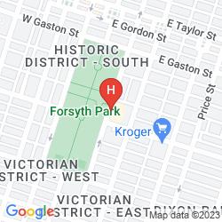 Mapa MANSION ON FORSYTH PARK, AUTOGRAPH COLLECTION