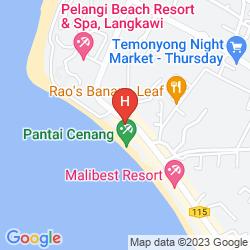 Mapa CASA DEL MAR