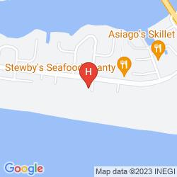 Mapa BEST WESTERN FORT WALTON BEACH