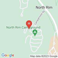 Mapa GRAND CANYON LODGE - NORTH RIM