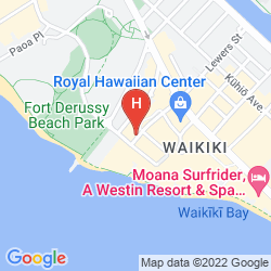 Mapa EMBASSY SUITES BY HILTON WAIKIKI BEACH WALK