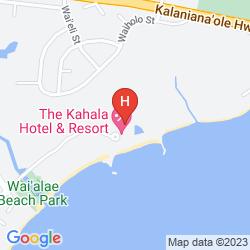 Mapa THE KAHALA HOTEL & RESORT