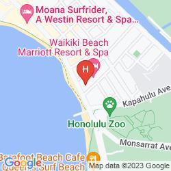 Mapa WAIKIKI BEACH MARRIOTT RESORT & SPA