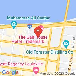 Mapa GALT HOUSE HOTEL & SUITES