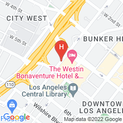 Mapa THE WESTIN BONAVENTURE HOTEL & SUITES, LOS ANGELES