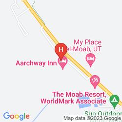 Mapa AARCHWAY INN