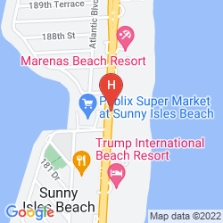 Mapa DAYS HOTEL BY WYNDHAM THUNDERBIRD BEACH RESORT