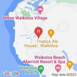 Mapa WAIKOLOA BEACH MARRIOTT RESORT & SPA