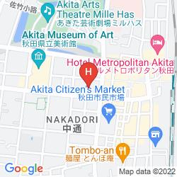Mapa RICHMOND HOTEL AKITA EKIMAE