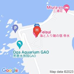 Mapa UMITO IRIHI NO YADO TEISUI