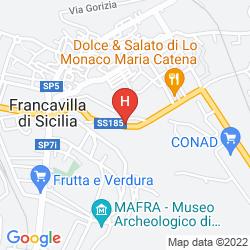 Mapa D' ORANGE D' ALCANTARA